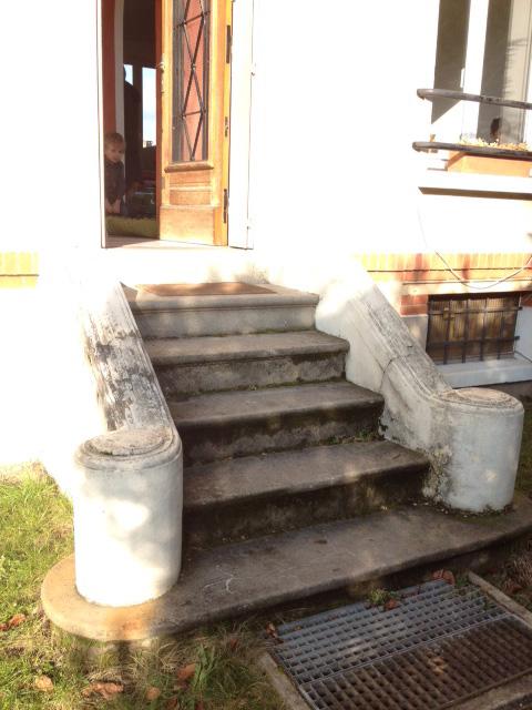 R nover mon escalier b ton ext rieur for Escalier exterieur en beton